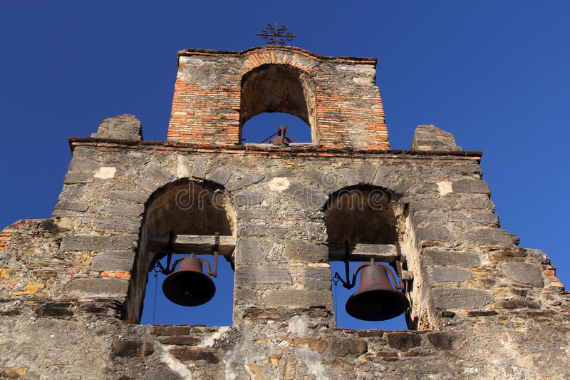 Αποστολή Espada Belltower στοκ εικόνα με δικαίωμα ελεύθερης χρήσης