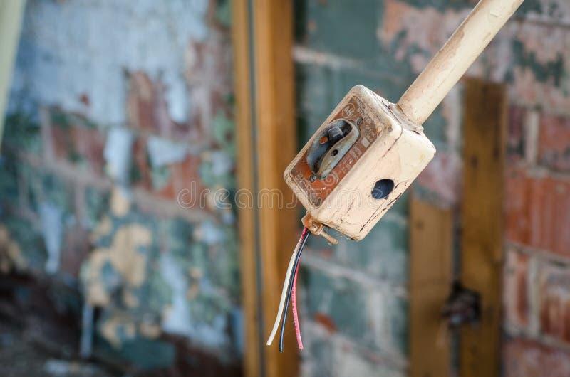 Αποσυνδεμένος διακόπτης 0057 στοκ εικόνα