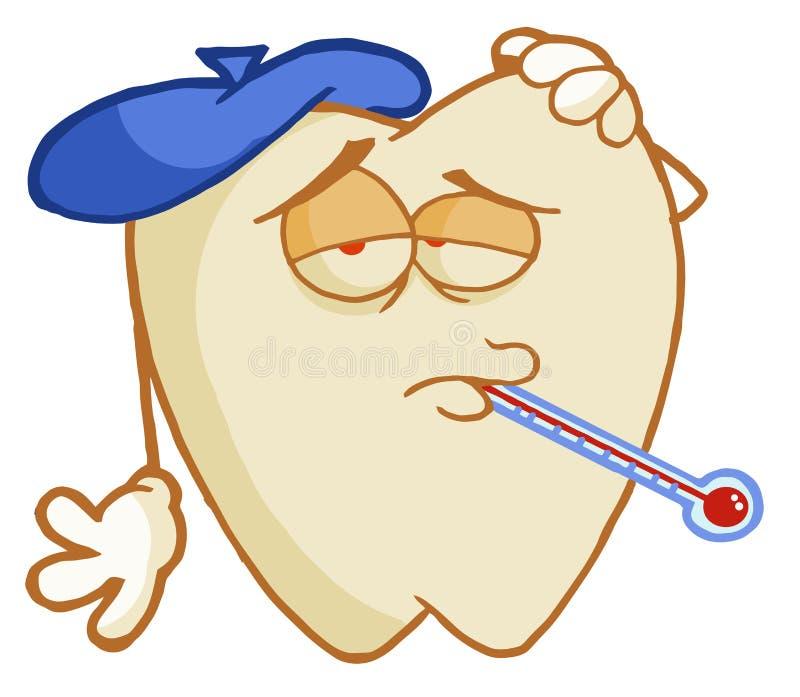 Download Αποσύνθεση δοντιών διανυσματική απεικόνιση. εικονογραφία από θερμοκρασία - 17058665