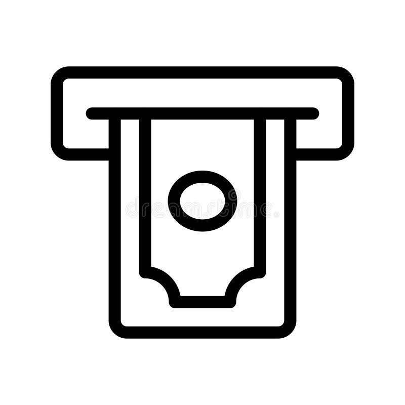 Αποσύρετε το διανυσματικό εικονίδιο γραμμών απεικόνιση αποθεμάτων