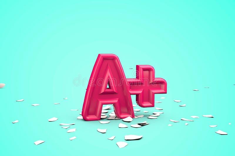Αποτέλεσμα εκκόλαψης αυγού κατά την εκκόλαψη βαθμού A+ απόδοση 3D ελεύθερη απεικόνιση δικαιώματος