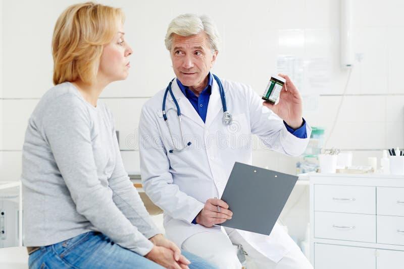 Αποτελεσματικά χάπια στοκ εικόνα
