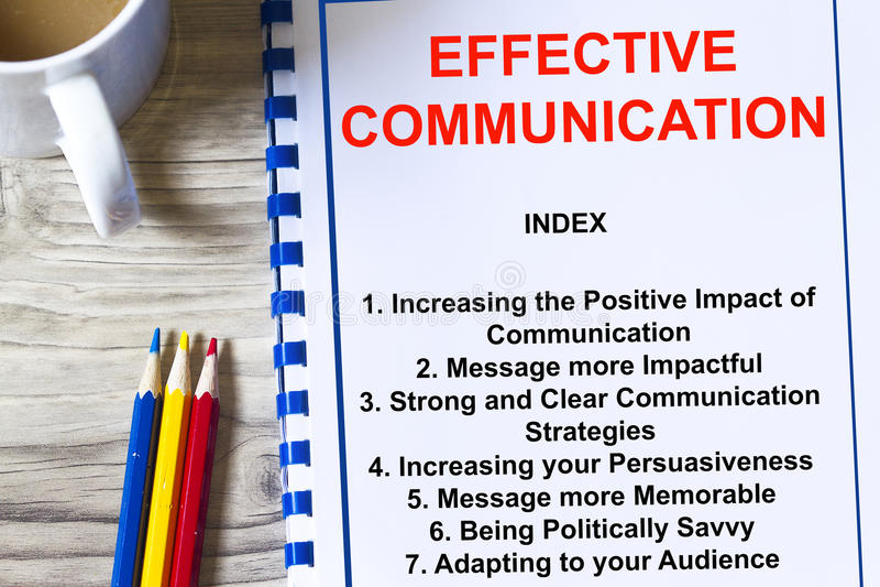 Αποτελεσματική έννοια επικοινωνίας στοκ φωτογραφίες με δικαίωμα ελεύθερης χρήσης