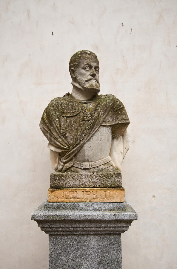 Αποτυχία του ισπανικού βασιλιά Philip ΙΙ στο κάστρο Alcazar, Segovia στοκ φωτογραφία με δικαίωμα ελεύθερης χρήσης