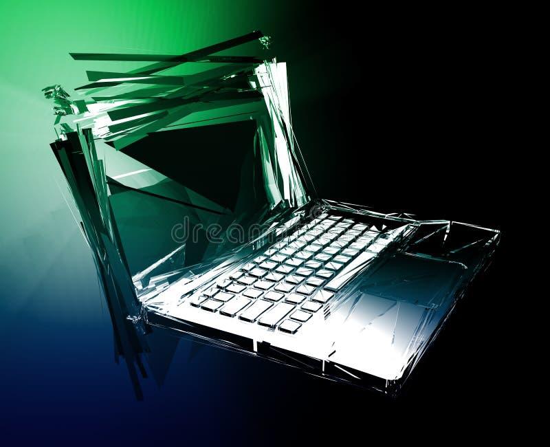 αποτυχία υπολογιστών δ&iota ελεύθερη απεικόνιση δικαιώματος