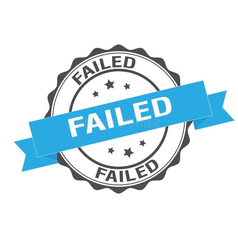 Αποτυχημένη απεικόνιση γραμματοσήμων ελεύθερη απεικόνιση δικαιώματος