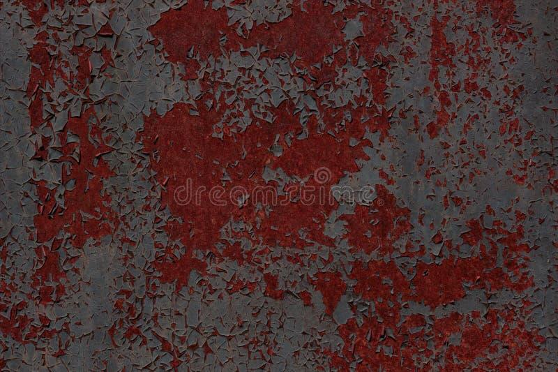 Αποφλοίωση χρωμάτων σύστασης μετάλλων μακριά στοκ εικόνες με δικαίωμα ελεύθερης χρήσης