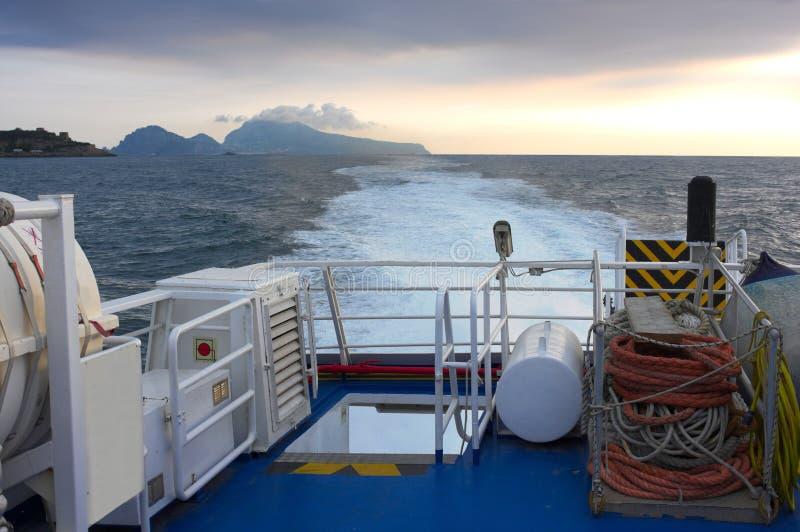 Αποχαιρετιστήριο Capri- Ιταλία στοκ εικόνες