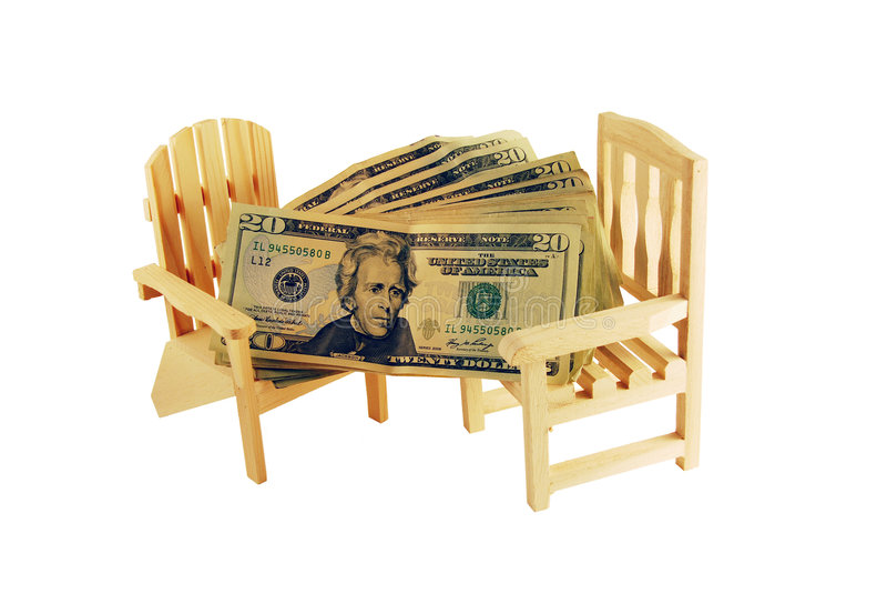 αποχώρηση χρημάτων στοκ εικόνα