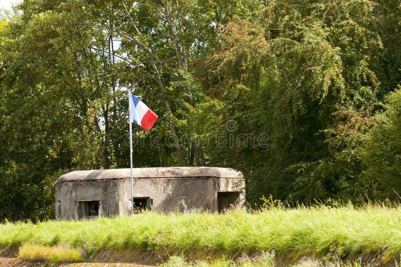 Απολυμένες γαλλικές υπερασπίσεις στοκ εικόνες