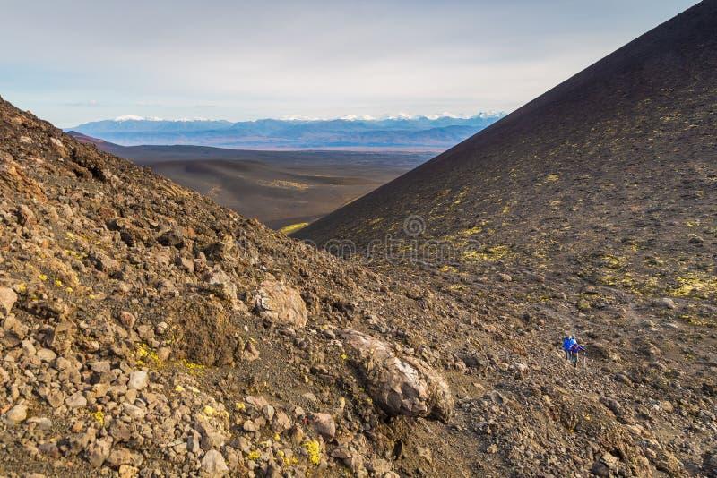 Απροσδιόριστος, εκλείψας ηφαίστειο Kamchatka, Ρωσία στοκ εικόνες με δικαίωμα ελεύθερης χρήσης