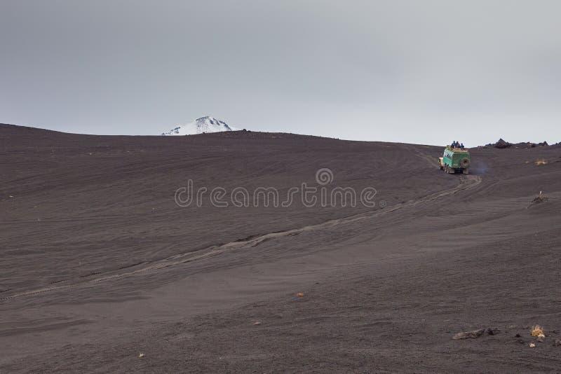 Απροσδιόριστος, εκλείψας ηφαίστειο Kamchatka, Ρωσία στοκ εικόνα με δικαίωμα ελεύθερης χρήσης