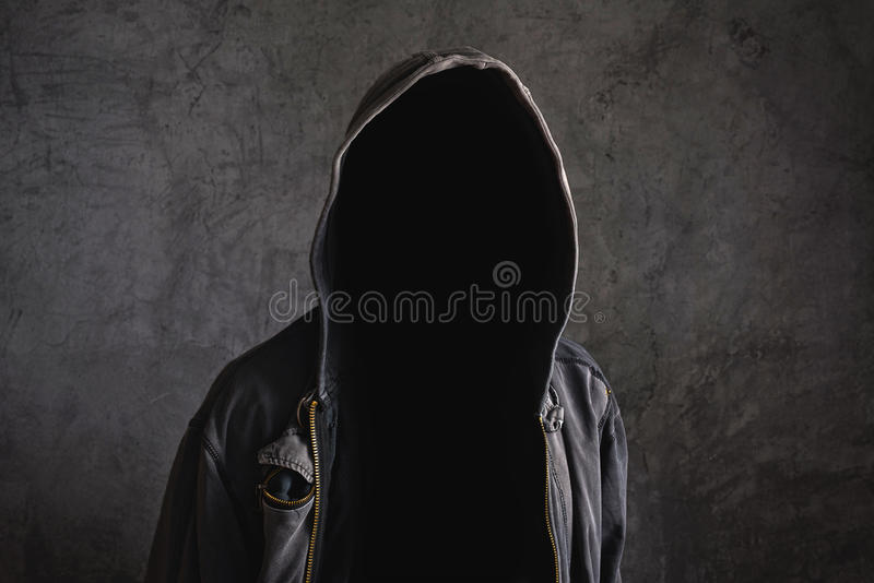 Απρόσωπο unrecognizable άτομο χωρίς ταυτότητα στοκ φωτογραφία με δικαίωμα ελεύθερης χρήσης