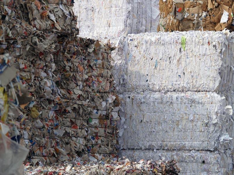 απόβλητα εγγράφου στοκ φωτογραφίες με δικαίωμα ελεύθερης χρήσης