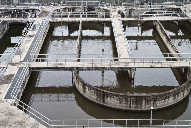 απόβλητο ύδωρ επεξεργασί στοκ φωτογραφίες με δικαίωμα ελεύθερης χρήσης