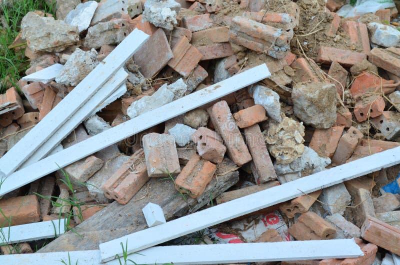 Απόβλητα δομικού υλικού στοκ φωτογραφίες με δικαίωμα ελεύθερης χρήσης