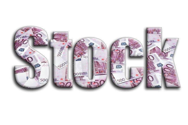 απόθεμα Η επιγραφή έχει μια σύσταση της φωτογραφίας, η οποία απεικονίζει πολλούς 500 ευρο- λογαριασμούς χρημάτων στοκ φωτογραφία με δικαίωμα ελεύθερης χρήσης