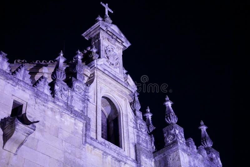 Απόκοσμη πρόσοψη εκκλησιών στοκ φωτογραφία με δικαίωμα ελεύθερης χρήσης