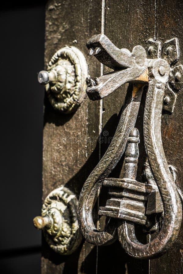 Απόκρυφη λεπτομέρεια πορτών στοκ φωτογραφίες με δικαίωμα ελεύθερης χρήσης