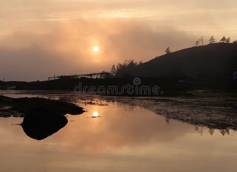 απόκρυφο ηλιοβασίλεμα στοκ φωτογραφία με δικαίωμα ελεύθερης χρήσης