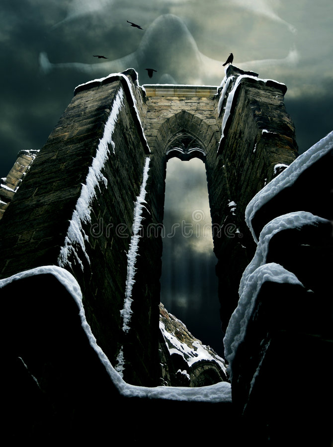 απόκρυφο κρανίο καταστρ&omic στοκ εικόνα