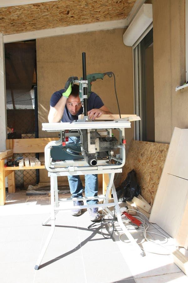 Απόλαυση στην ξυλουργική στοκ φωτογραφίες με δικαίωμα ελεύθερης χρήσης