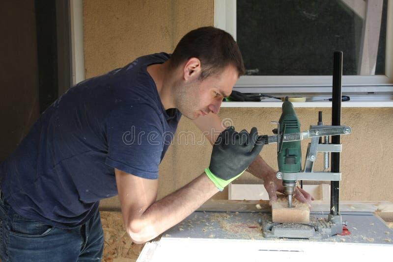 Απόλαυση στην ξυλουργική στοκ φωτογραφία με δικαίωμα ελεύθερης χρήσης