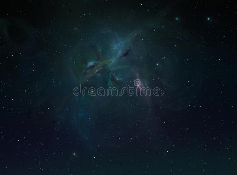 Απόμακρο υπόβαθρο γαλαξιών στοκ εικόνες με δικαίωμα ελεύθερης χρήσης
