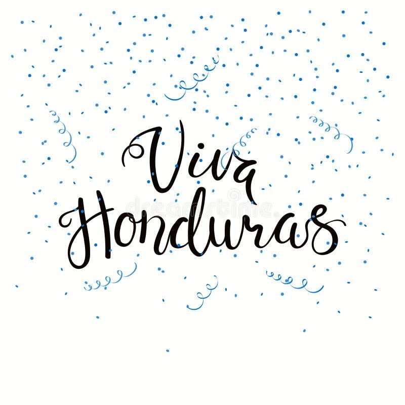 Απόσπασμα εγγραφής της Ονδούρας Ονδούρα Viva ελεύθερη απεικόνιση δικαιώματος