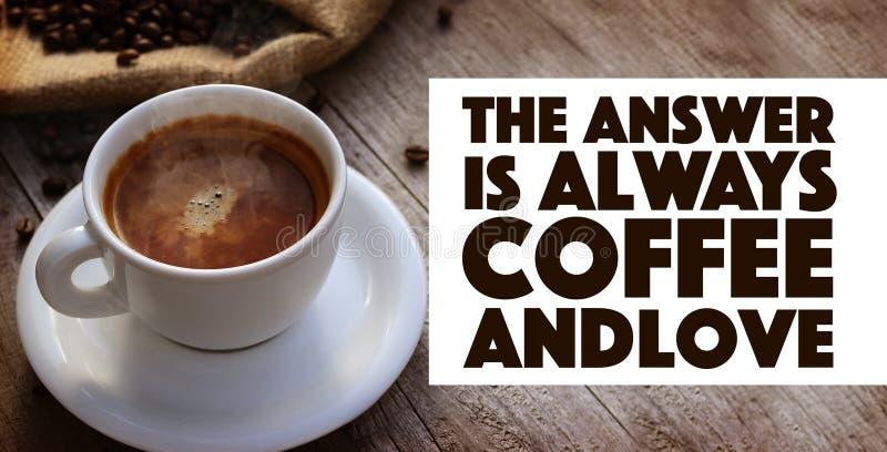 Απόσπασμα καφέ στοκ εικόνες