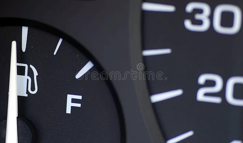 απόσταση σε μίλια αερίου στοκ εικόνα με δικαίωμα ελεύθερης χρήσης