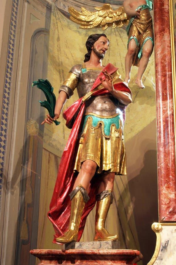 Απόστολος Αγίου Modestus Carantania στοκ φωτογραφία με δικαίωμα ελεύθερης χρήσης