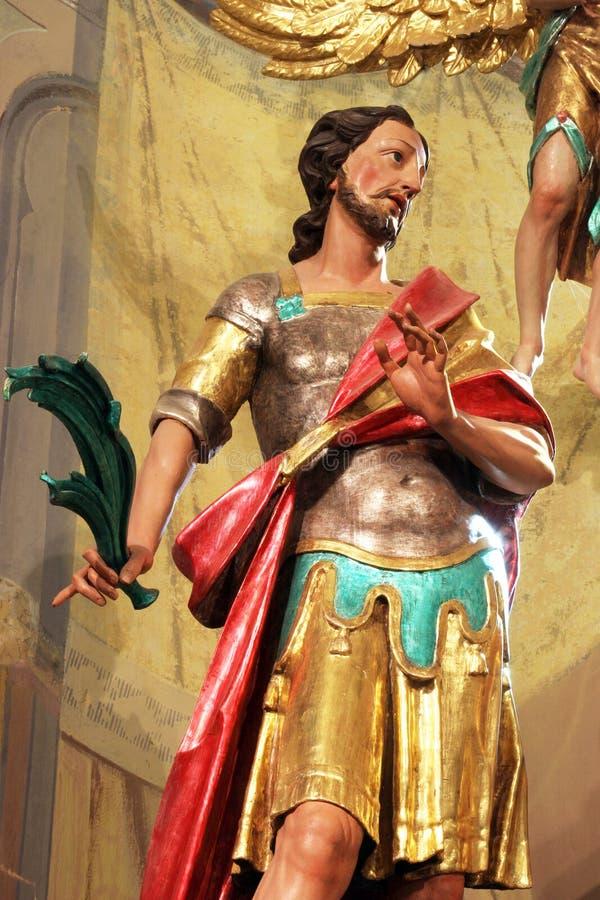 Απόστολος Αγίου Modestus Carantania στοκ εικόνα