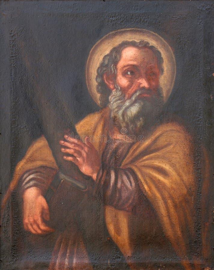 Απόστολος Αγίου Andrew στοκ φωτογραφίες με δικαίωμα ελεύθερης χρήσης