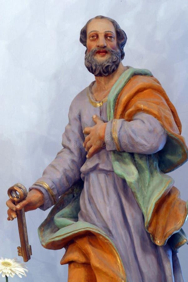 απόστολος Peter Άγιος στοκ εικόνες