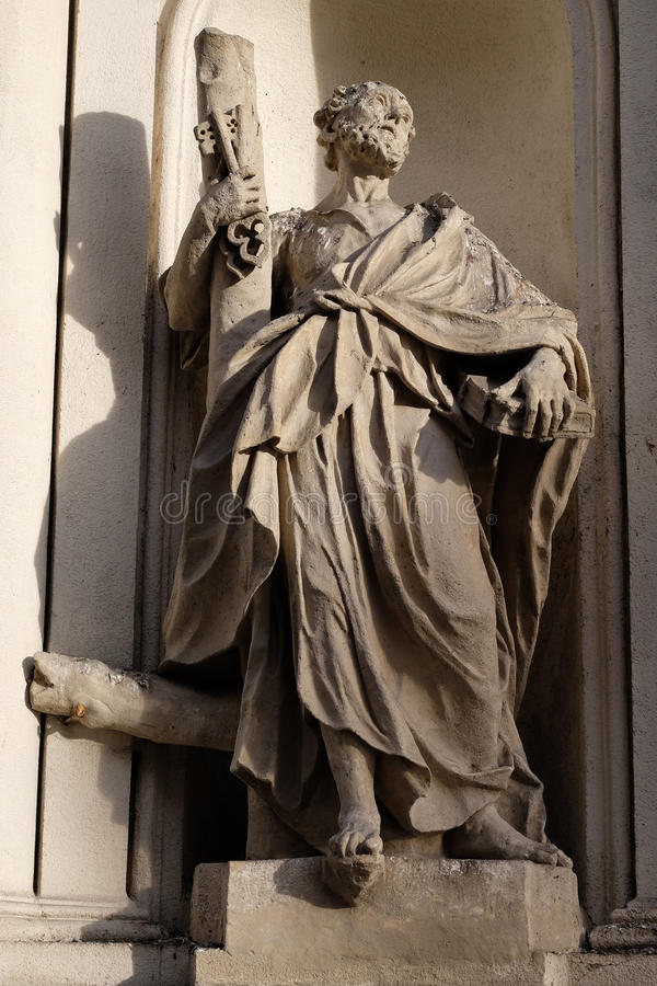 απόστολος Peter Άγιος στοκ φωτογραφία με δικαίωμα ελεύθερης χρήσης