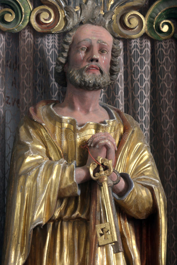 απόστολος Peter Άγιος στοκ εικόνα με δικαίωμα ελεύθερης χρήσης
