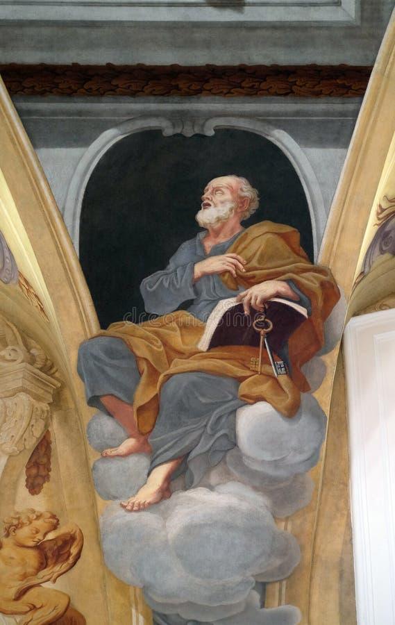 απόστολος Peter Άγιος στοκ φωτογραφία