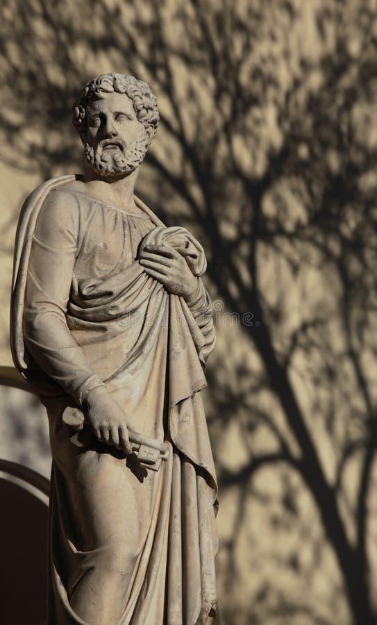 Απόστολος Peter με τα κλειδιά στοκ φωτογραφία με δικαίωμα ελεύθερης χρήσης