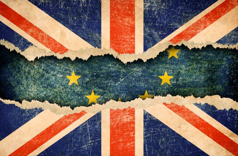 Απόσυρση της Μεγάλης Βρετανίας από την Ευρωπαϊκή τρισδιάστατη απεικόνιση Ένωσης brexit στοκ εικόνα με δικαίωμα ελεύθερης χρήσης