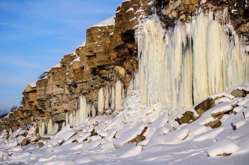 Απότομοι βράχοι Pakri στοκ φωτογραφία