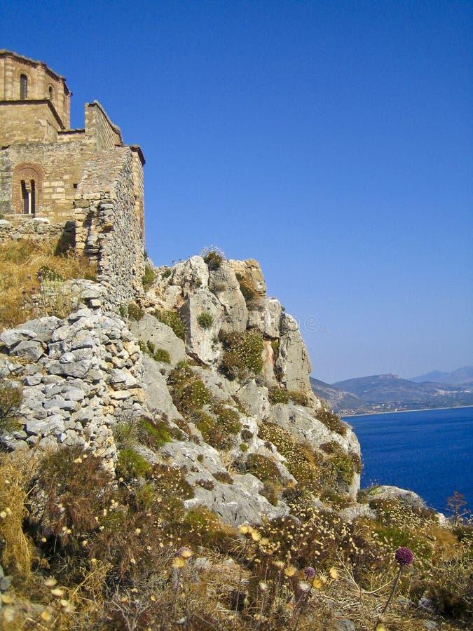 απότομος βράχος εκκλησιών στοκ φωτογραφίες με δικαίωμα ελεύθερης χρήσης