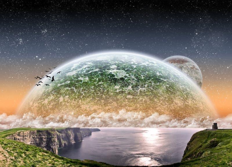 απότομος βράχος Ιρλανδία m απεικόνιση αποθεμάτων