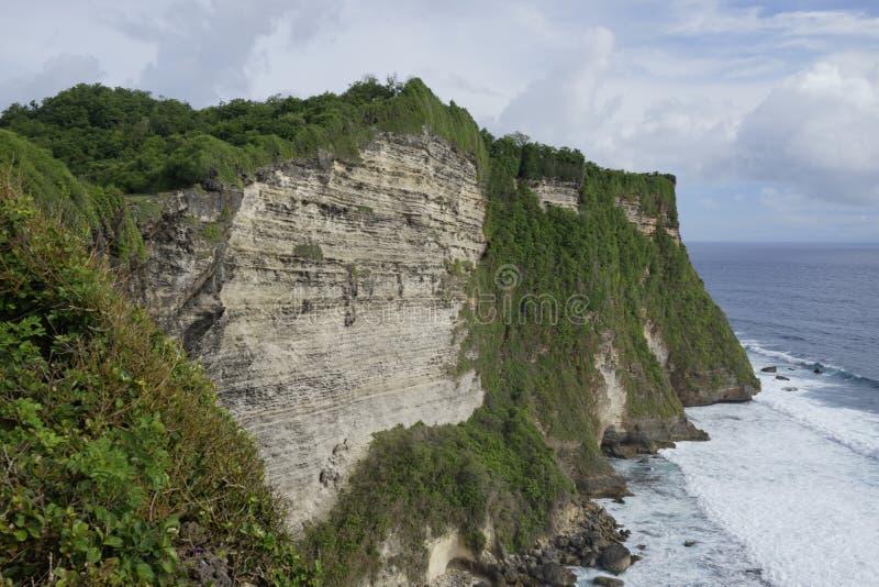 Απότομος βράχος Steef σε Uluwatu, Μπαλί στοκ φωτογραφία με δικαίωμα ελεύθερης χρήσης