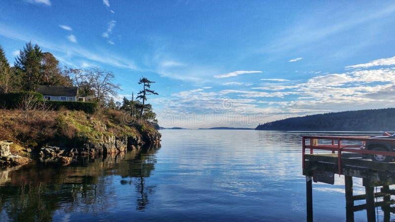 Απόψεις νησιών Saltspring στοκ φωτογραφία με δικαίωμα ελεύθερης χρήσης