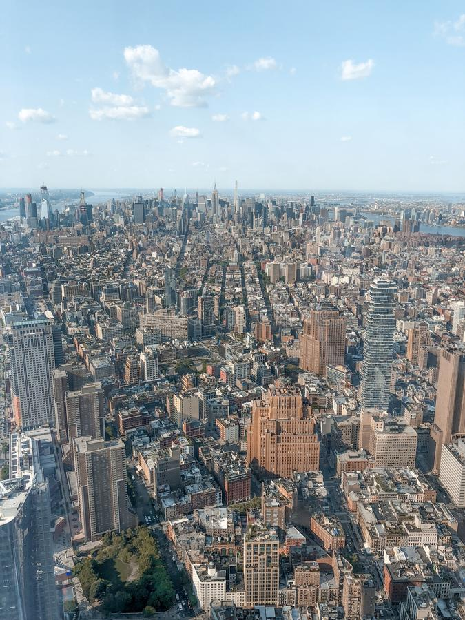 Απόψεις της πόλης της Νέας Υόρκης στοκ εικόνες με δικαίωμα ελεύθερης χρήσης