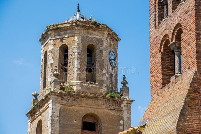 Απόψεις της πόλης Sahagun στοκ εικόνες