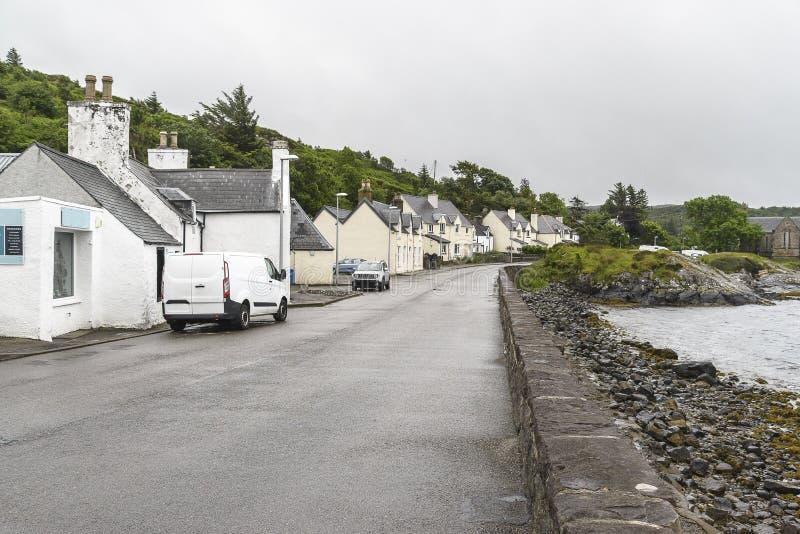 Απόψεις του χωριού Lochinver στοκ φωτογραφία με δικαίωμα ελεύθερης χρήσης