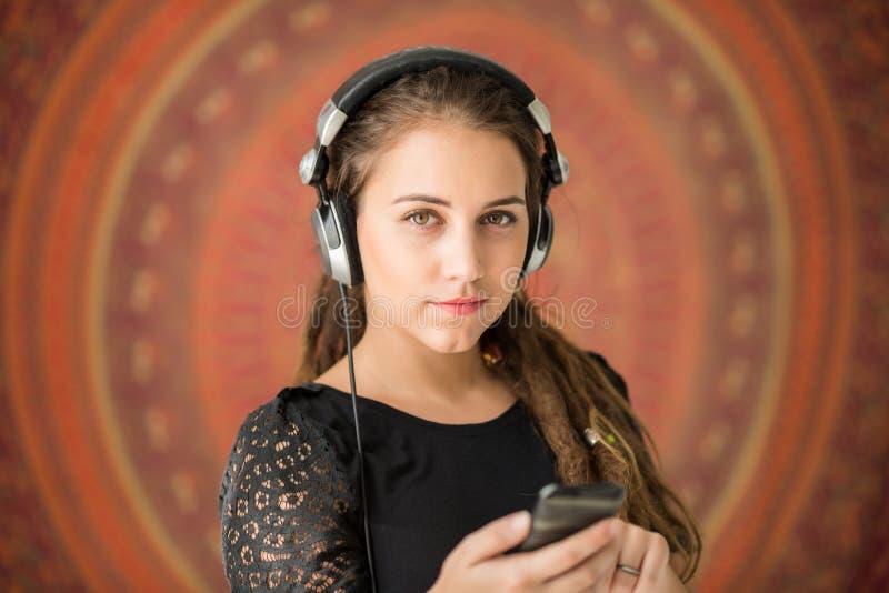 απόλαυση της μουσικής στοκ εικόνα