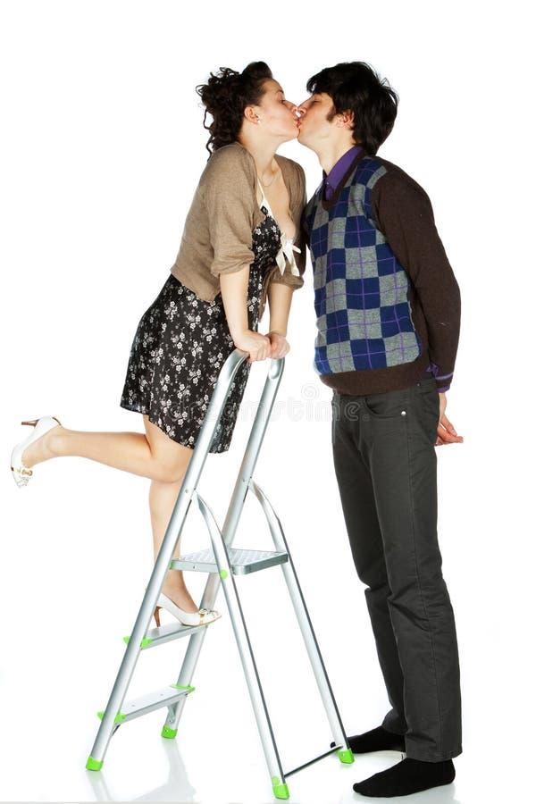 Download από κοινού στοκ εικόνα. εικόνα από αγάπη, σκάλα, αρσενικό - 13187725